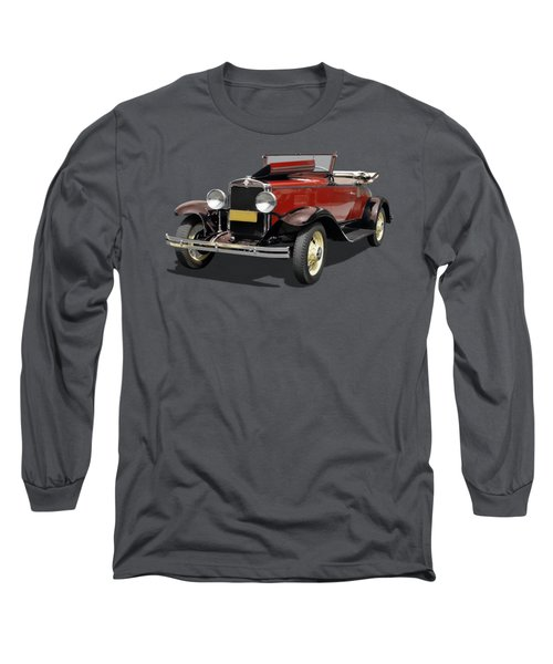 Vintage Classic Car Coupe Long Sleeve T-Shirt
