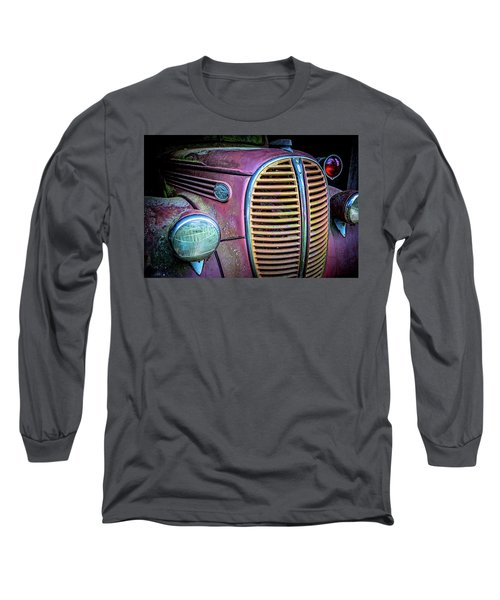 Vintage Ford Firetruck Long Sleeve T-Shirt