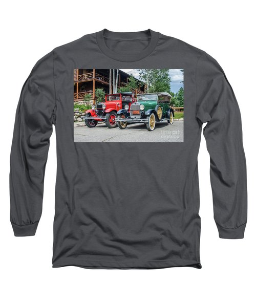 Vintage Ford's Long Sleeve T-Shirt