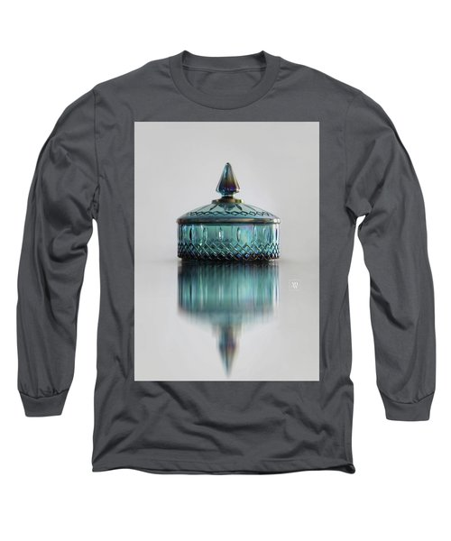 Vintage Glass Candy Jar Long Sleeve T-Shirt