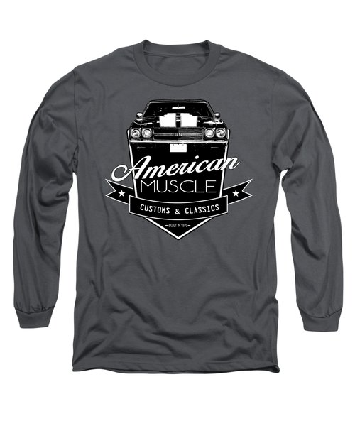 Vintage Muscle Chevelle Long Sleeve T-Shirt