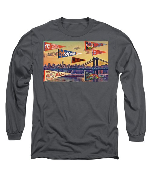 Vintage New York Mets Long Sleeve T-Shirt