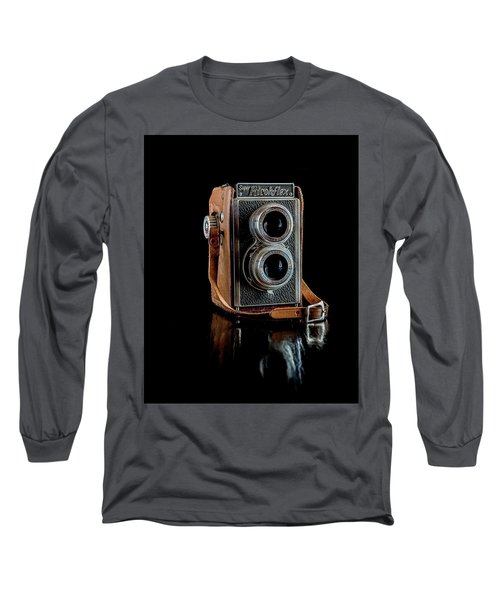 Vintage Ricohflex Camera Long Sleeve T-Shirt