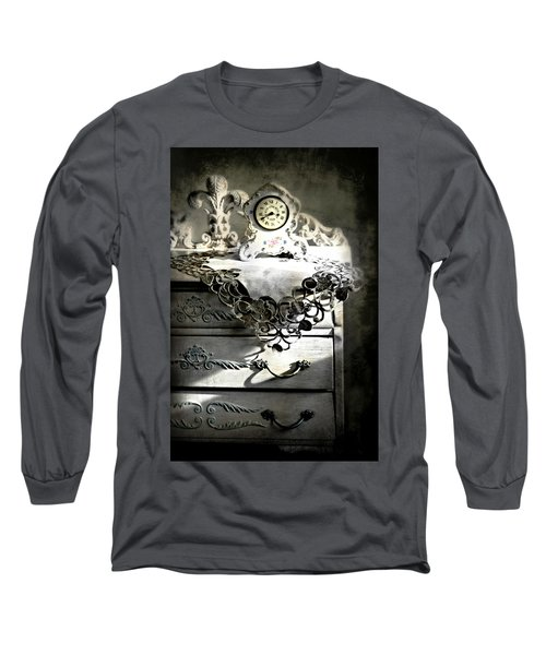 Long Sleeve T-Shirt featuring the photograph Vintage Time by Diana Angstadt