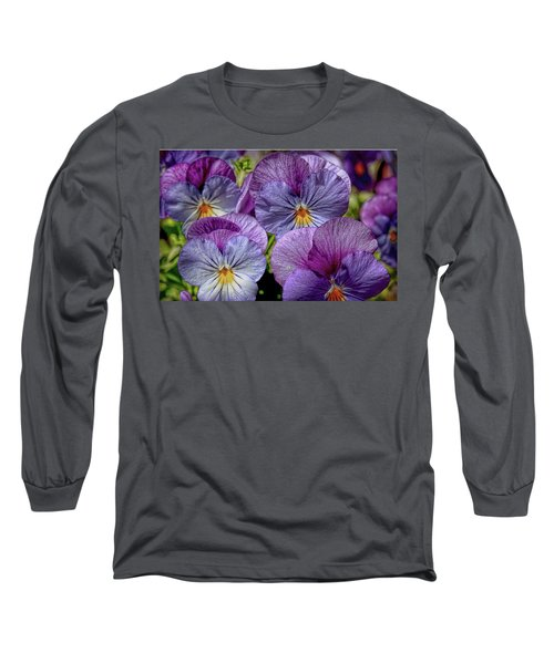 Long Sleeve T-Shirt featuring the photograph Viola by Bonnie Willis