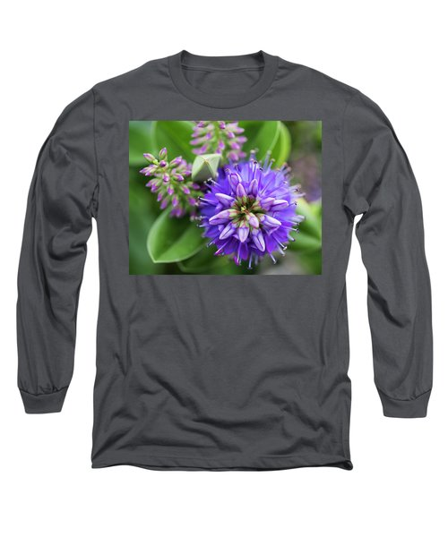 Violet Burst Long Sleeve T-Shirt