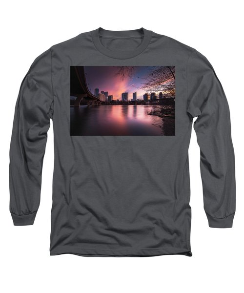 Violet Crown Long Sleeve T-Shirt