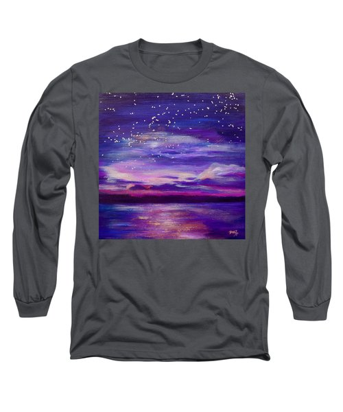 Violet Evening Long Sleeve T-Shirt