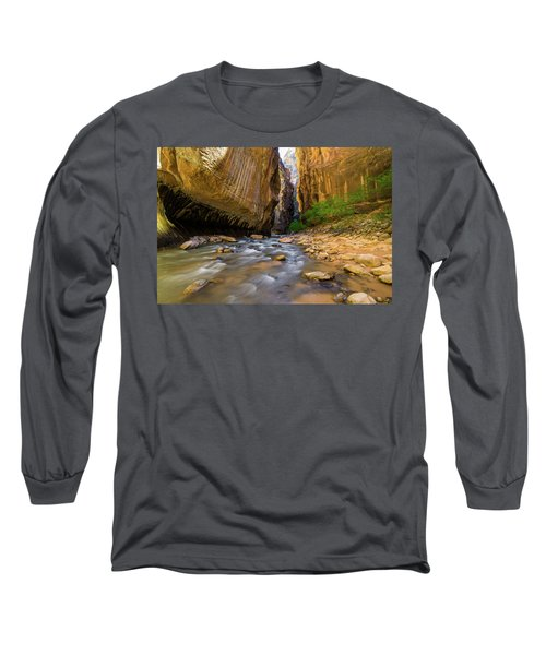 Virgin River - Zion National Park Long Sleeve T-Shirt