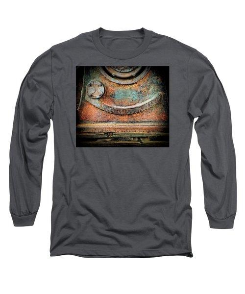 Long Sleeve T-Shirt featuring the photograph Virginia City Rust by Steve Siri