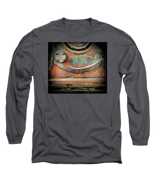 Long Sleeve T-Shirt featuring the photograph Virginia City Rust by Steve Siri