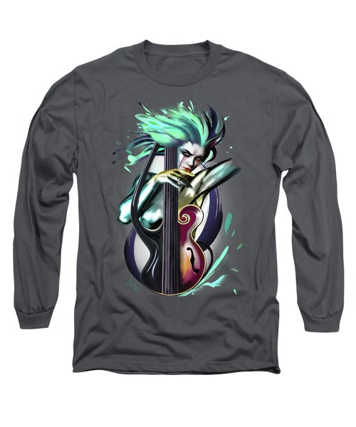 Virgo Long Sleeve T-Shirt by Melanie D