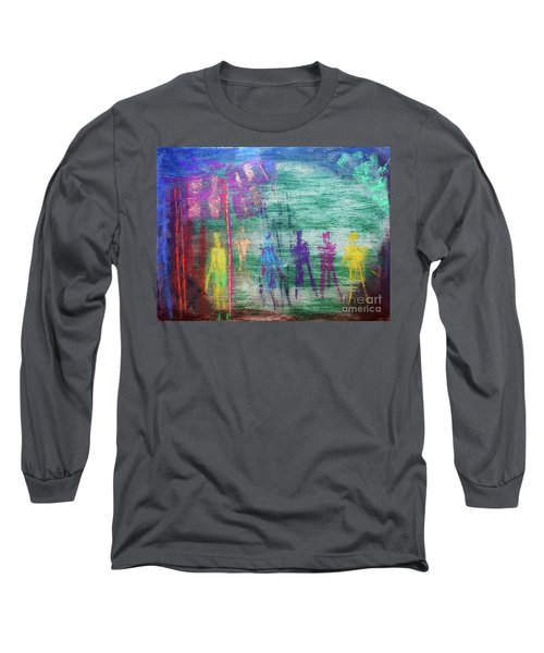 Visions Of Future Beings Long Sleeve T-Shirt