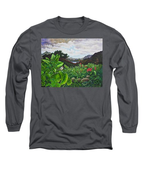 Visions Of Paradise Viii Long Sleeve T-Shirt by Michael Frank
