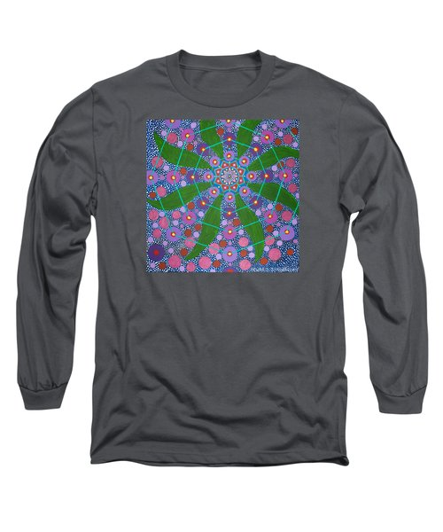 Visions Of The Amethyst Beyond  Long Sleeve T-Shirt