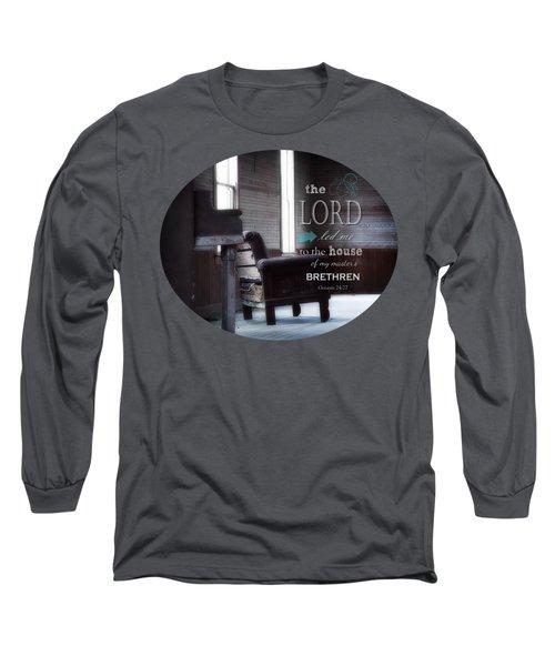 Visitor - Verse Long Sleeve T-Shirt