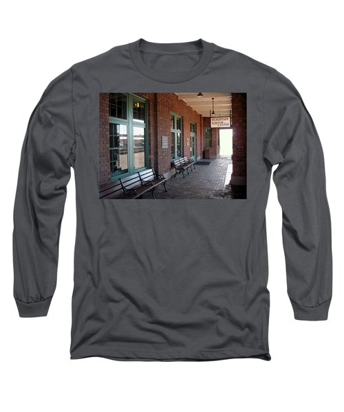 Visitors Center Train Station Long Sleeve T-Shirt