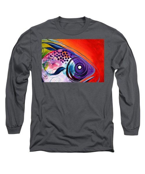Vivid Fish Long Sleeve T-Shirt
