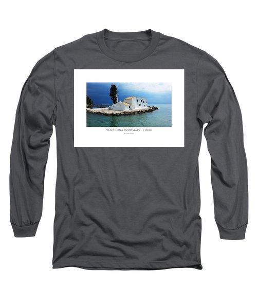 Vlachurna Monastary - Corfu Long Sleeve T-Shirt