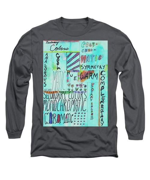 Vocabulary Long Sleeve T-Shirt