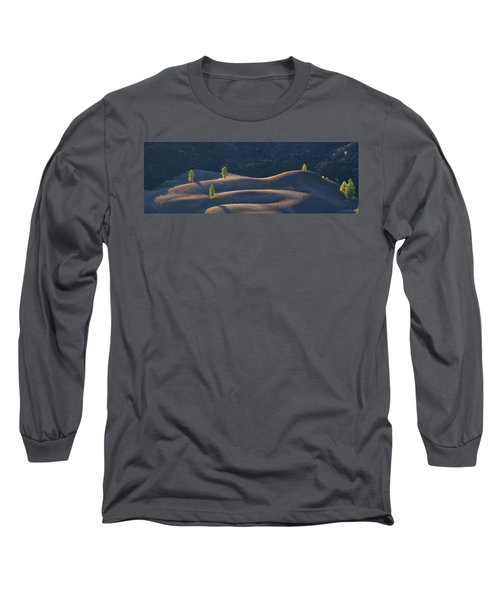 Long Sleeve T-Shirt featuring the photograph Volcanic by Dustin LeFevre