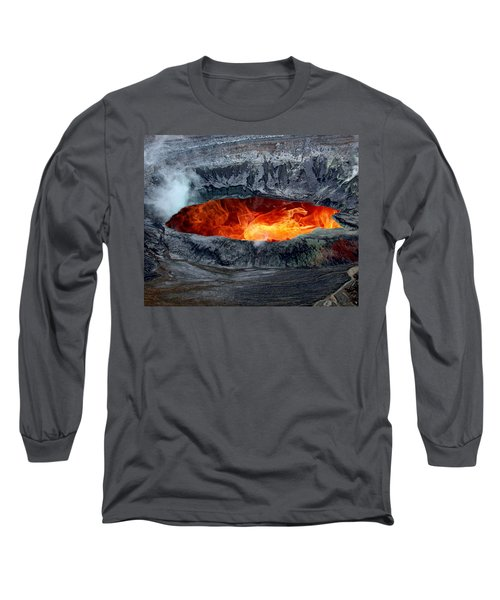 Volcanic Eruption Long Sleeve T-Shirt