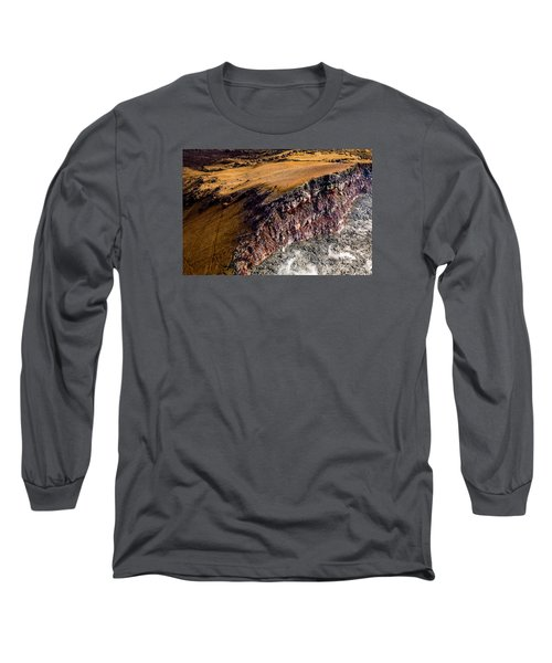 Long Sleeve T-Shirt featuring the photograph Volcanic Ridge II by M G Whittingham