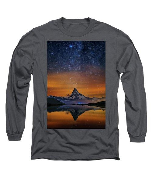 Volcano Fountain Long Sleeve T-Shirt