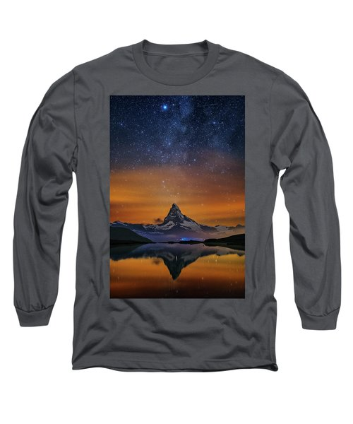 Volcano Fountain Long Sleeve T-Shirt