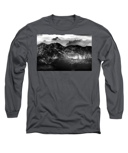 Long Sleeve T-Shirt featuring the photograph Volcano by Hayato Matsumoto