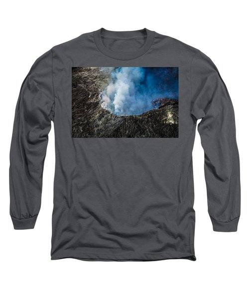Another View Of The Kalauea Volcano Long Sleeve T-Shirt