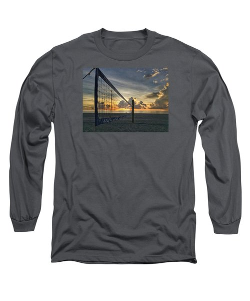 Volleyball Sunrise Long Sleeve T-Shirt