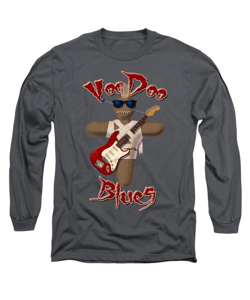 Voodoo Blues Strat T Shirt Long Sleeve T-Shirt