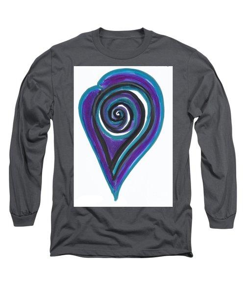 Vortex Wave Long Sleeve T-Shirt