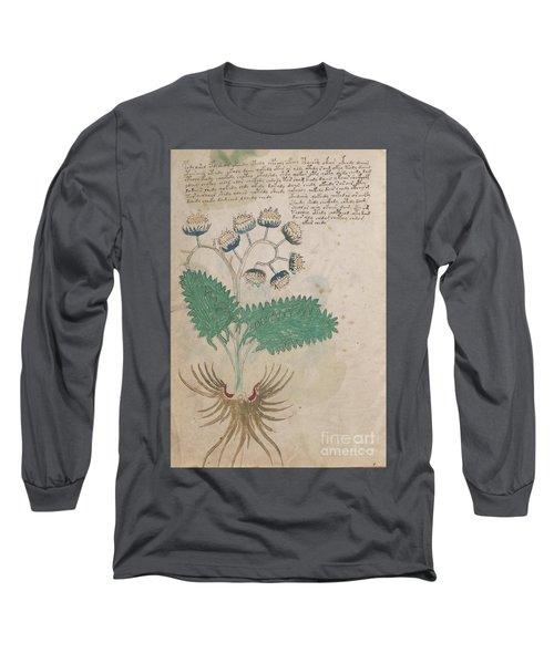 Voynich Flora 14 Long Sleeve T-Shirt