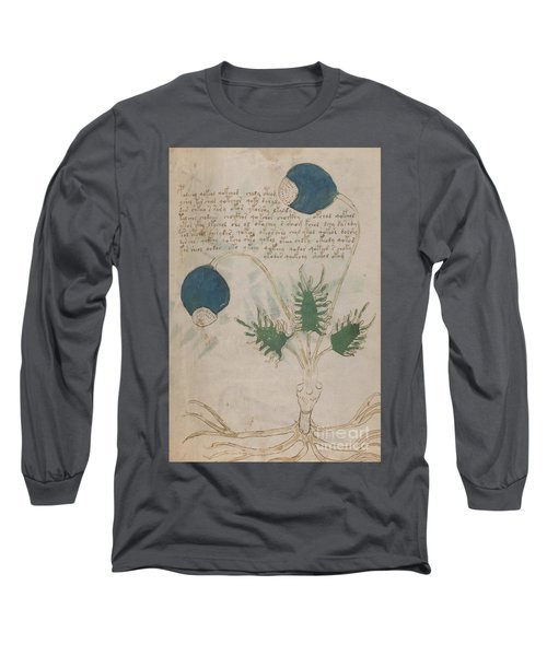 Voynich Flora 20 Long Sleeve T-Shirt