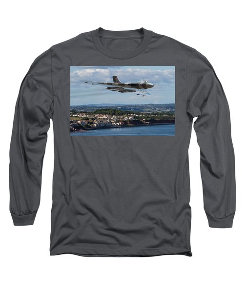 Vulcan Bomber Xh558 Dawlish 2015 Long Sleeve T-Shirt