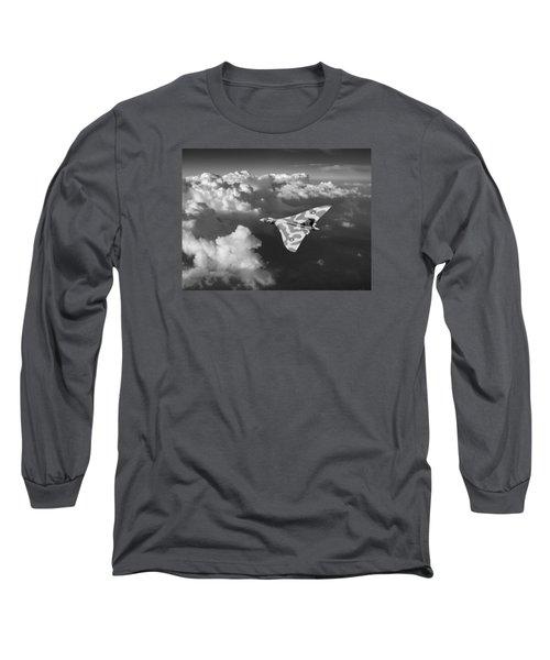 Vulcan Catching The Light Black And White Long Sleeve T-Shirt