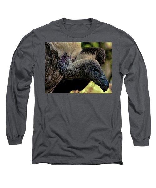 Vulture Long Sleeve T-Shirt by Martin Newman