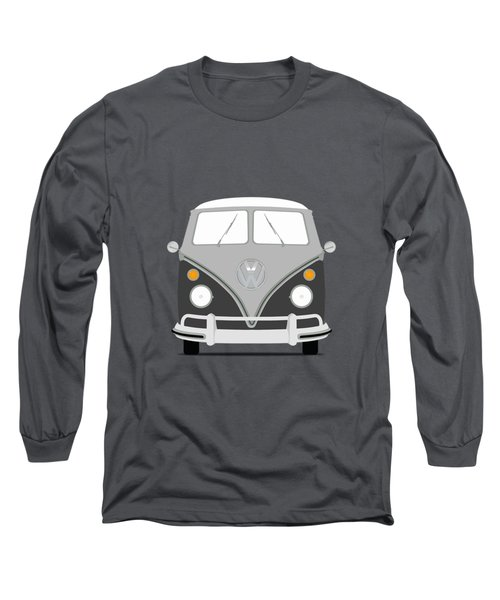 Vw Bus Grey Long Sleeve T-Shirt