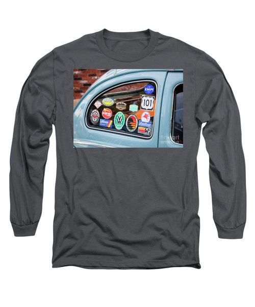 Long Sleeve T-Shirt featuring the photograph Vw Club by Chris Dutton