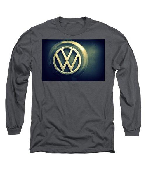 Vw Thing Emblem Long Sleeve T-Shirt by Joseph Skompski