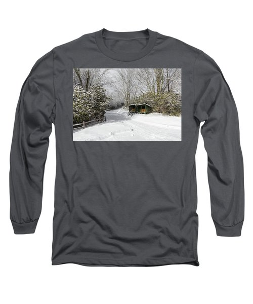 Wagon Wheels And Firewood Long Sleeve T-Shirt