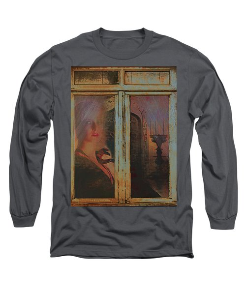 Long Sleeve T-Shirt featuring the photograph Waiting And Watching by Jeff Burgess