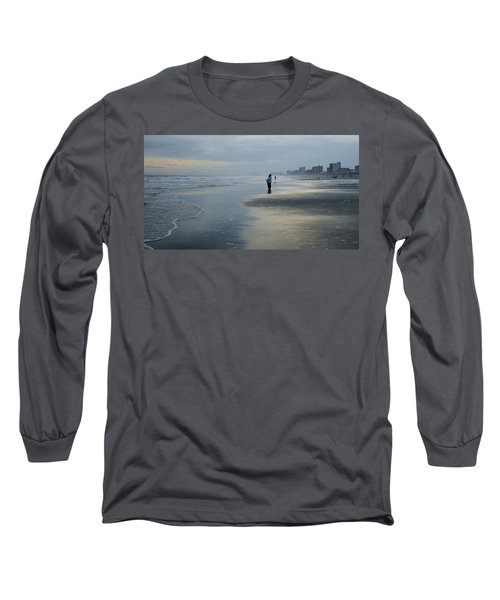 Long Sleeve T-Shirt featuring the photograph Waiting by Cathy Harper
