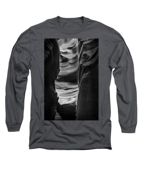 Waiting For Sunlight Long Sleeve T-Shirt by Jon Glaser