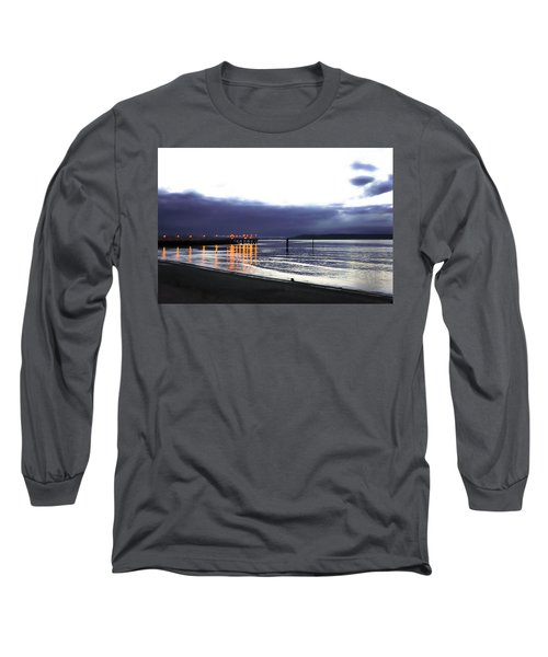 Waiting For The Kingston Ferry Long Sleeve T-Shirt