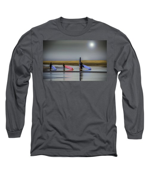 Waiting For The Surf Long Sleeve T-Shirt