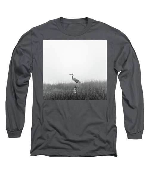 Waiting On The Fog To Clear Long Sleeve T-Shirt