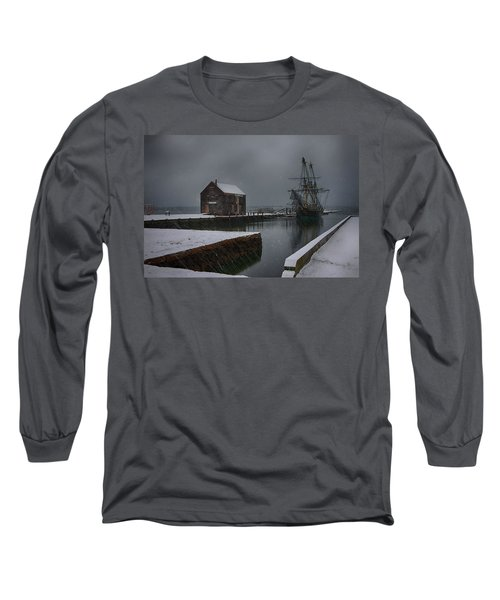 Waiting Quietly Long Sleeve T-Shirt by Jeff Folger